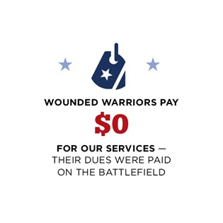 Warriors pay $0 for our services