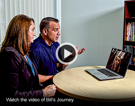 Watch the video of Bill's journey